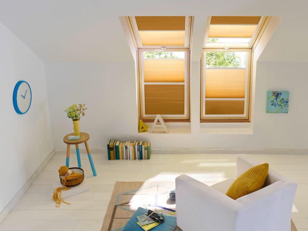 Tende plissettate a nido d'ape marroni relax - Sintesi Tende Orbassano Torino
