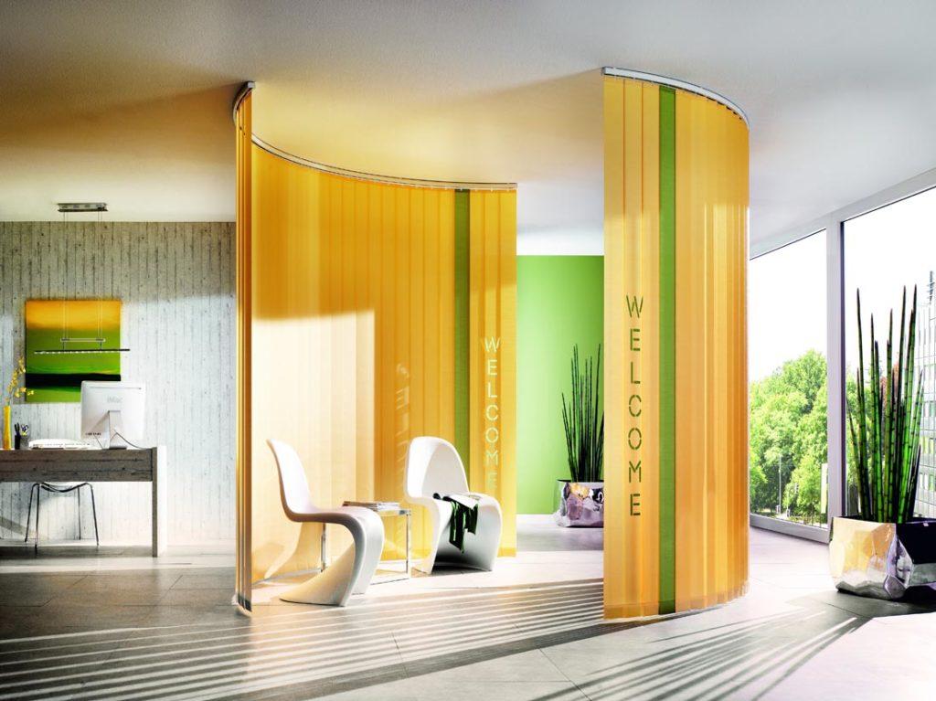 Tende verticali yellow - Sintesi Tende Orbassano Torino