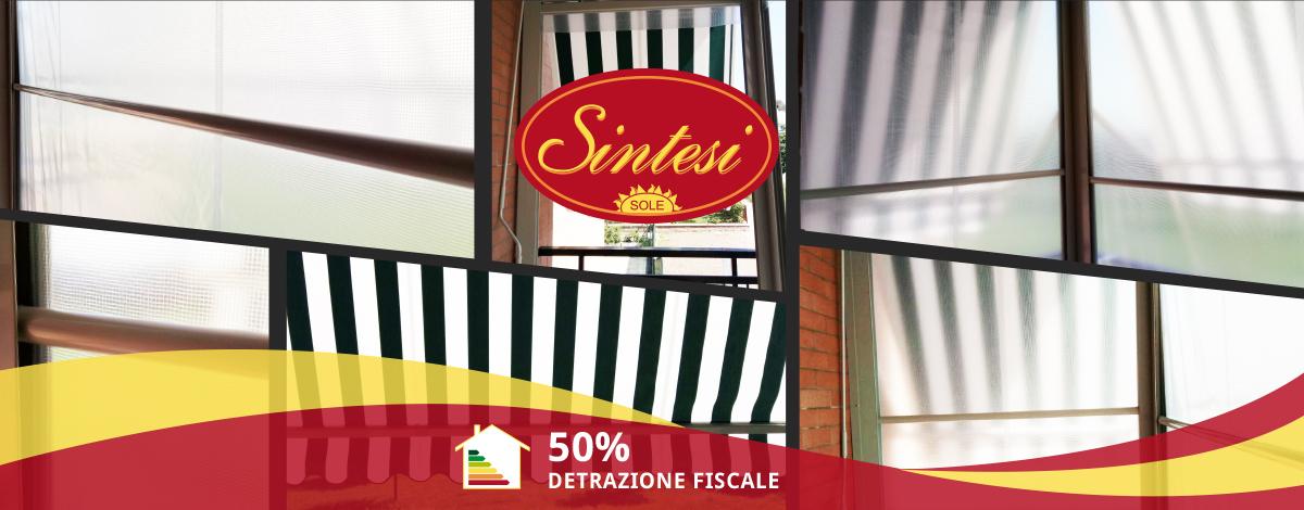 Tenda Veranda estate inverno - Sintesi Tende Orbassano Torino